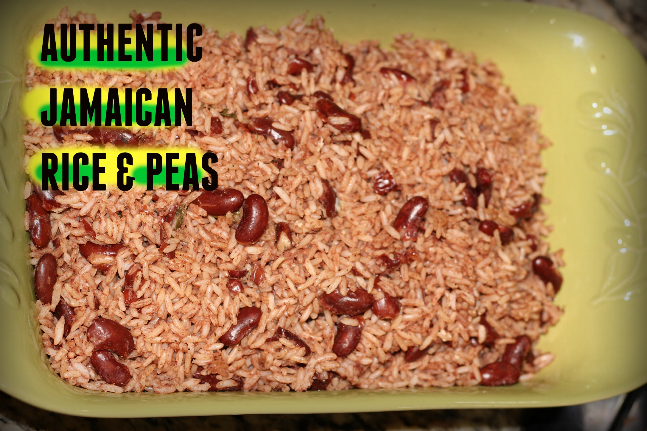 Jamaican Rice and Peas - The Jamaican Mother
