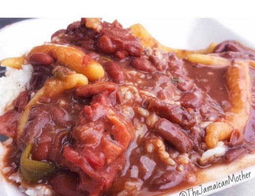 Jamaican Stew Peas and Rice