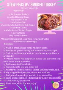 Jamaican Stew Peas Recipe